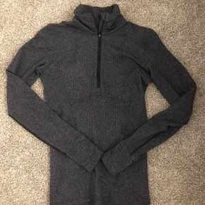 Lululemon Grey Quarter Zip